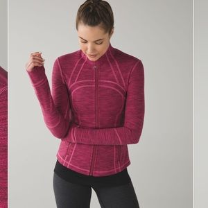 Pink Lululemon Athletica Define Jacket